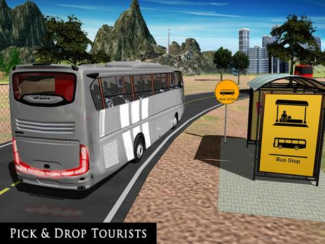 Uphill Off Road Bus City Coach Bus Simulator 2018 screenshot 10