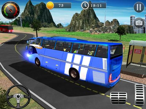 Uphill Off Road Bus City Coach Bus Simulator 2018 screenshot 12