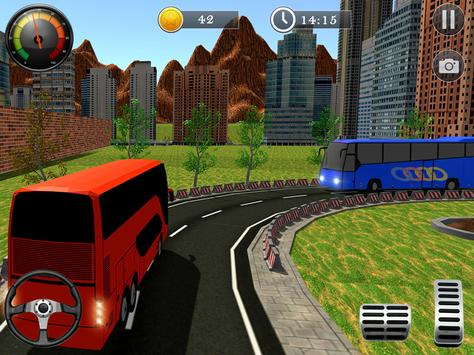 Uphill Off Road Bus City Coach Bus Simulator 2018 screenshot 14