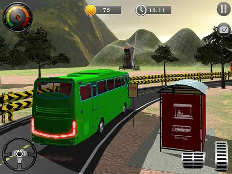 Uphill Off Road Bus City Coach Bus Simulator 2018 screenshot 15