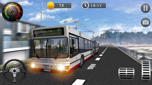 Uphill Off Road Bus City Coach Bus Simulator 2018 screenshot 16