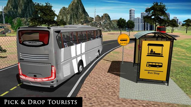 Uphill Off Road Bus City Coach Bus Simulator 2018 screenshot 18