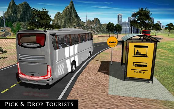 Uphill Off Road Bus City Coach Bus Simulator 2018 screenshot 1