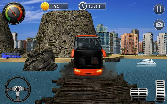Uphill Off Road Bus City Coach Bus Simulator 2018 screenshot 3
