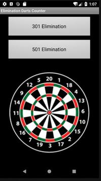Elimination Dart Counter poster