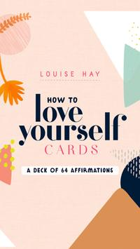 How to Love Yourself Cards - Louise Hay पोस्टर