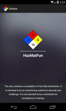 HazMatFun poster