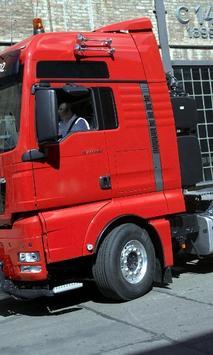 Themes MAN TGX Truck poster