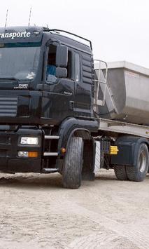 Wallpap MAN TGA Series 4 Truck poster