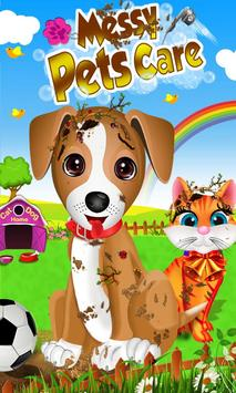 Messy Pet Care poster