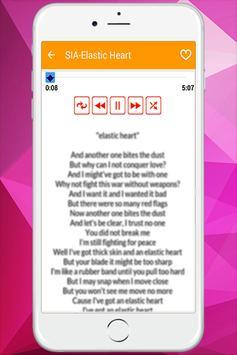Sia - Music With Lyrics screenshot 5