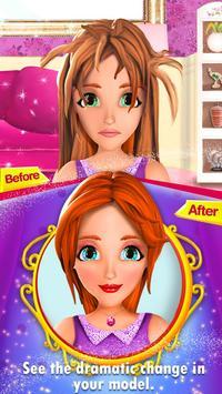Top Model Makeup Fashion Salon poster