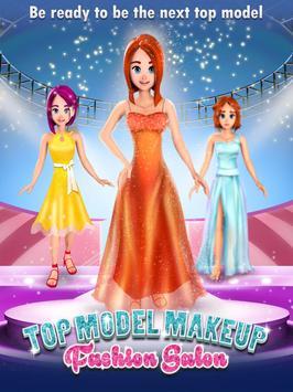Top Model Makeup Fashion Salon apk screenshot