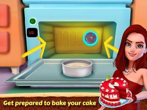 Valentine Love Cake Maker Real Cook Game Screenshot 15