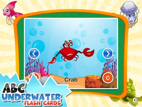 ABC Underwater Flash Cards apk screenshot
