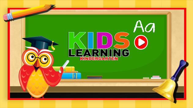 Kids Learning Kindergarten poster