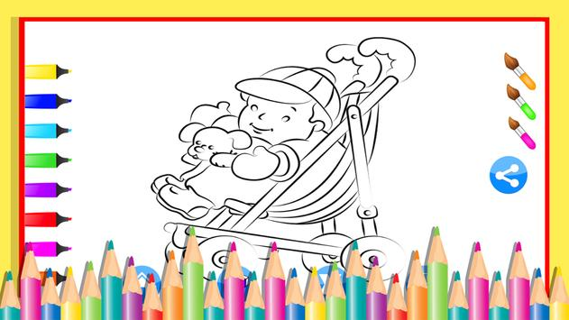 Celebrity Baby Coloring apk screenshot