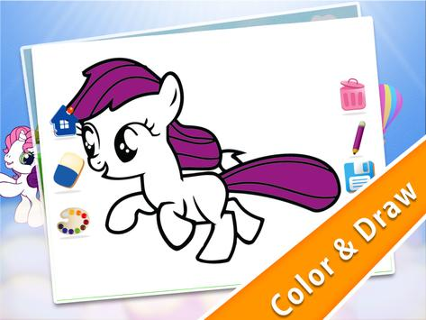 Pony Coloring For Toddlers apk screenshot