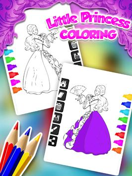 Little Princess Coloring screenshot 12