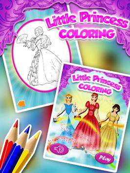 Little Princess Coloring screenshot 5