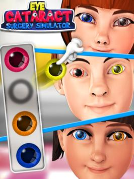 Eye Cataract Surgery Simulator apk screenshot