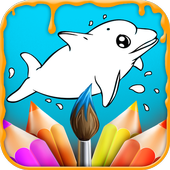 Kids Coloring & Painting Book icon