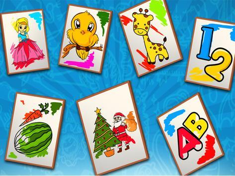 Kids Coloring & Painting Book apk screenshot
