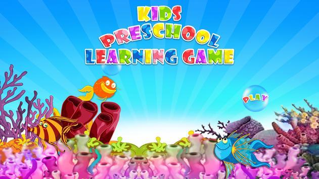 Kids PreSchool Learning Game poster