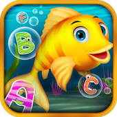 Alphabet in Sea World for Kids icon