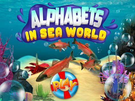 Alphabet in Sea World for Kids screenshot 14