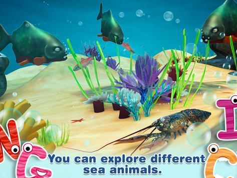 Alphabet in Sea World for Kids screenshot 12