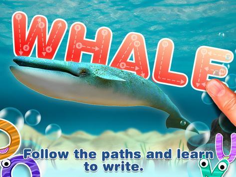Alphabet in Sea World for Kids screenshot 20