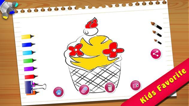 Cupcake Coloring Book screenshot 3
