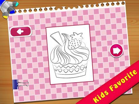 Cupcake Coloring Book screenshot 11
