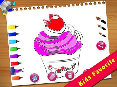 Cupcake Coloring Book screenshot 13