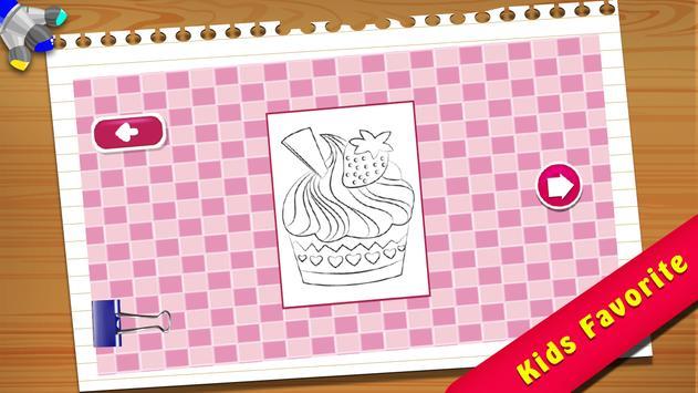 Cupcake Coloring Book screenshot 1