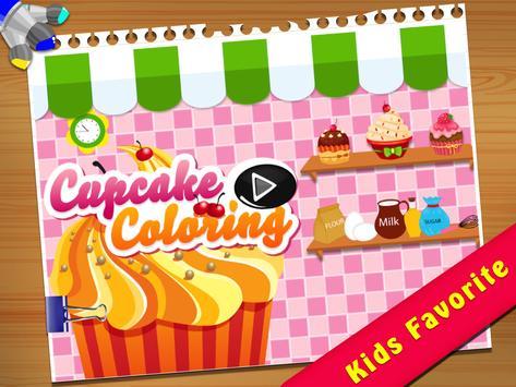 Cupcake Coloring Book screenshot 5