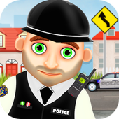Hero Policeman for kids icon