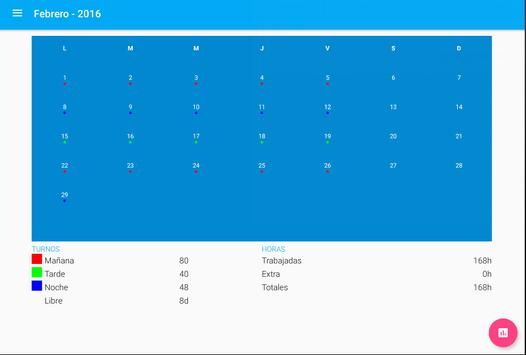 Workshift scheduler screenshot 8