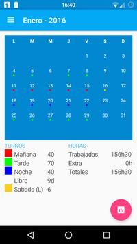 Workshift scheduler poster