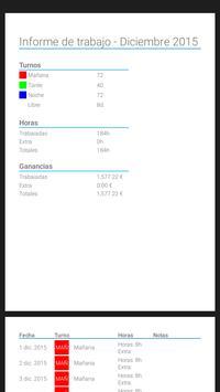 Workshift scheduler screenshot 15