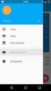 Workshift scheduler screenshot 2