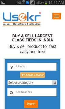 Usekr - Best Local Free Classifieds apk screenshot