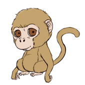 How to Draw a Monkey icon