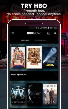 HBO NOW: Stream TV & Movies ポスター