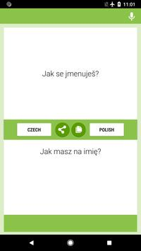Czech-Polish Translator screenshot 3