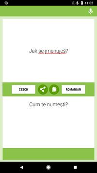 Czech-Romanian Translator screenshot 3
