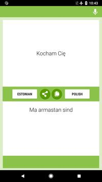 Estonian-Polish Translator screenshot 1