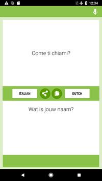 Italian-Dutch Translator screenshot 3