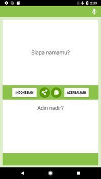 Indonesian-Azerbaijani Translator poster